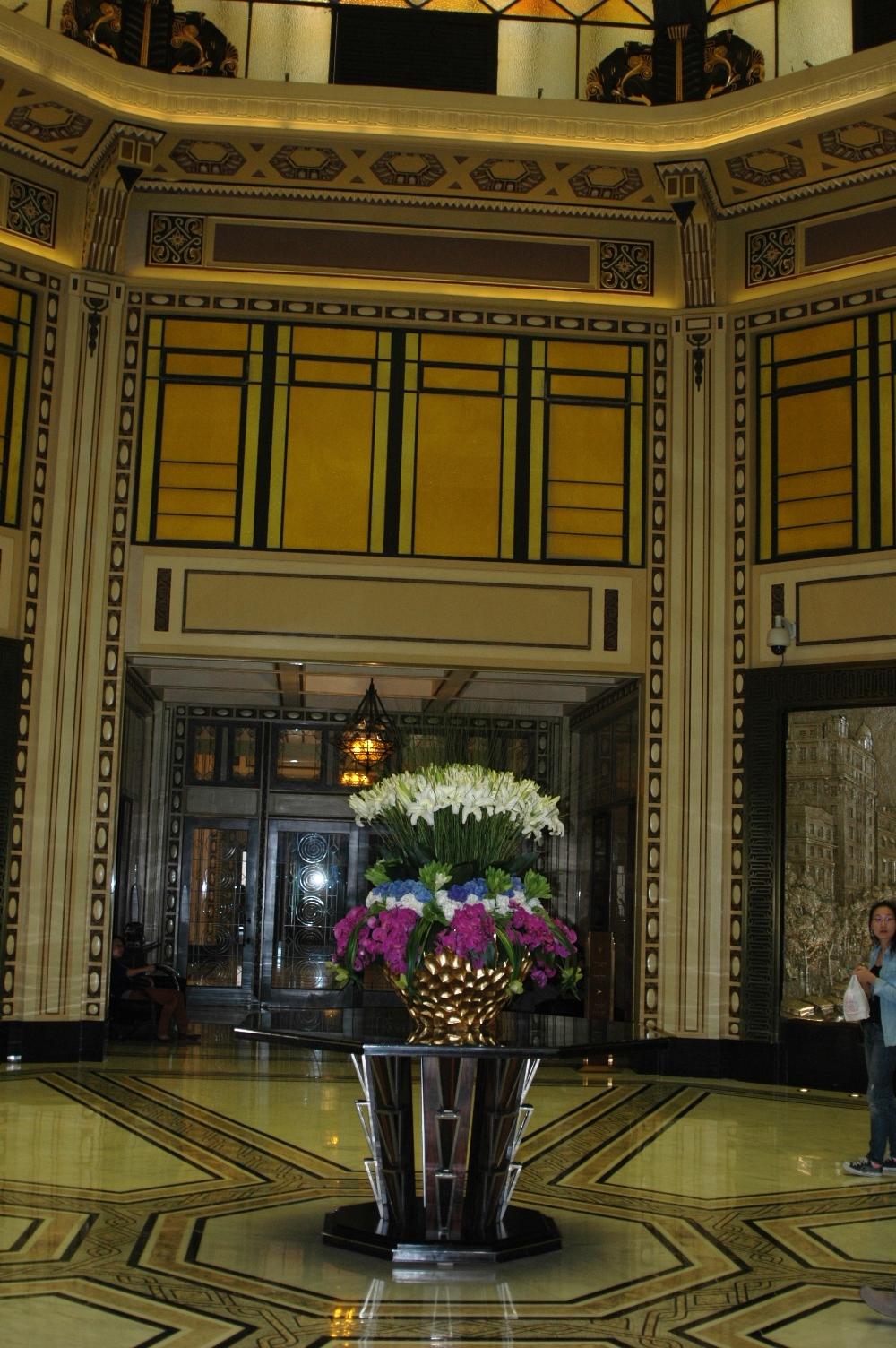 2012年10月20日: 下榻上海和平饭店