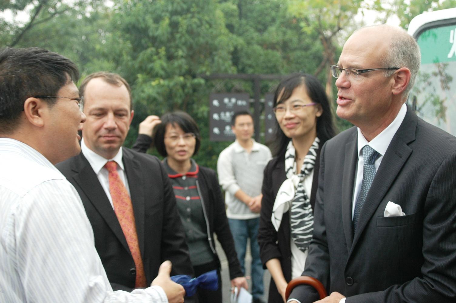 2012年10月22日: 参观上海吴淞国际邮轮码头