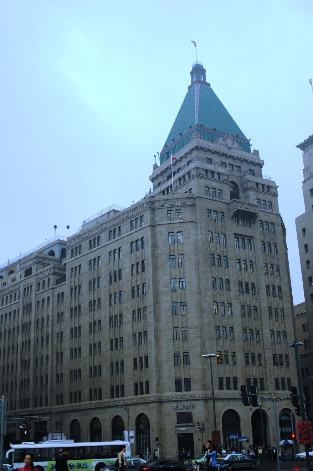 2012年10月22日:  上海外滩 再见Fairmont 和平饭店