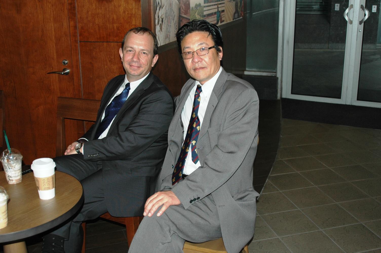 Victoria市长 Mr. Dean Fortin 2012年10月访问苏州