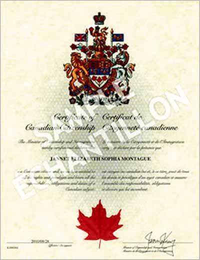 加拿大公民申请:在加拿大 四年内住满三年