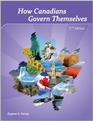 加拿大人怎样管理自己 How Canadians Govern Themselves