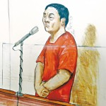 苑刚命案报道 疑凶出庭神态自若 称无辜 申请保释