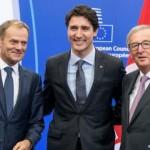 历时七年 加欧自由贸易协定终签署 将去除99%关税
