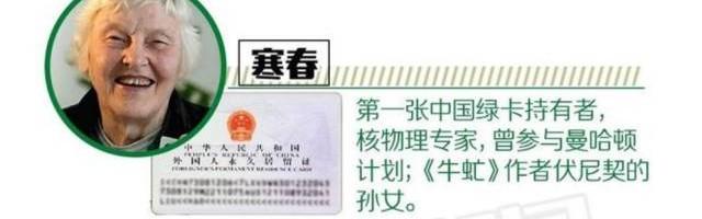 """中国""""绿卡""""改革 便利外籍华人"""