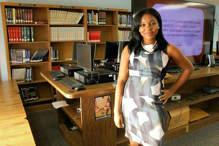 Augusta Uwamanzu-Nna is the daughter of Nigerian immigrants.