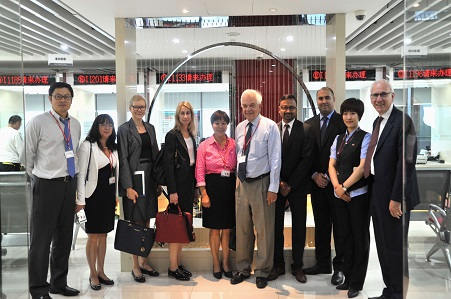 Visit at Canada Visa Application Centre in Beijing, P.R. China