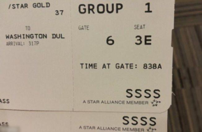 登机证上出现这串字符要小心了,代表你被盯上了