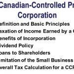 加拿大税改 计划全面取消中小公司(即CCPC)在税务上的优惠