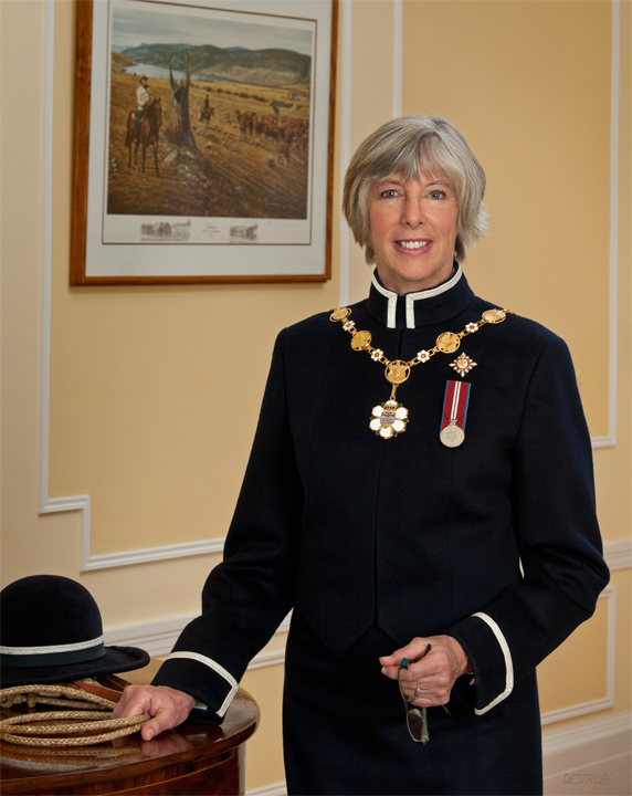 The Honourable Judith Guichon, OBC Lieutenant Governor of British Columbia