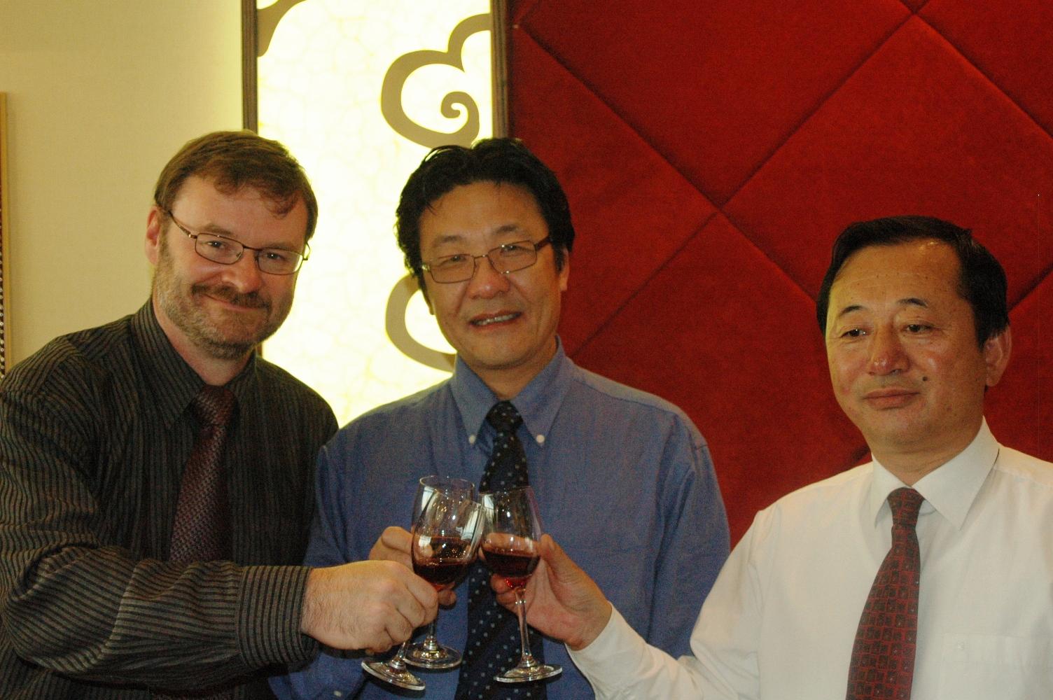 嘉和国际 老胡和 Camosun副校长 Tom