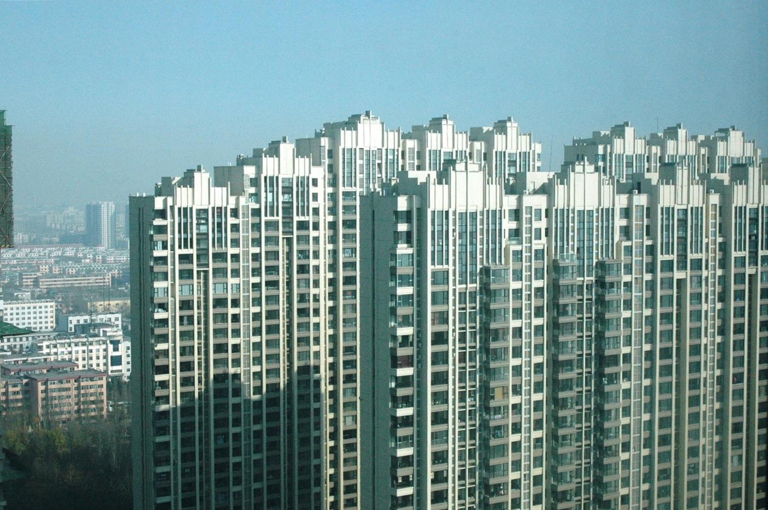 高层住宅林立