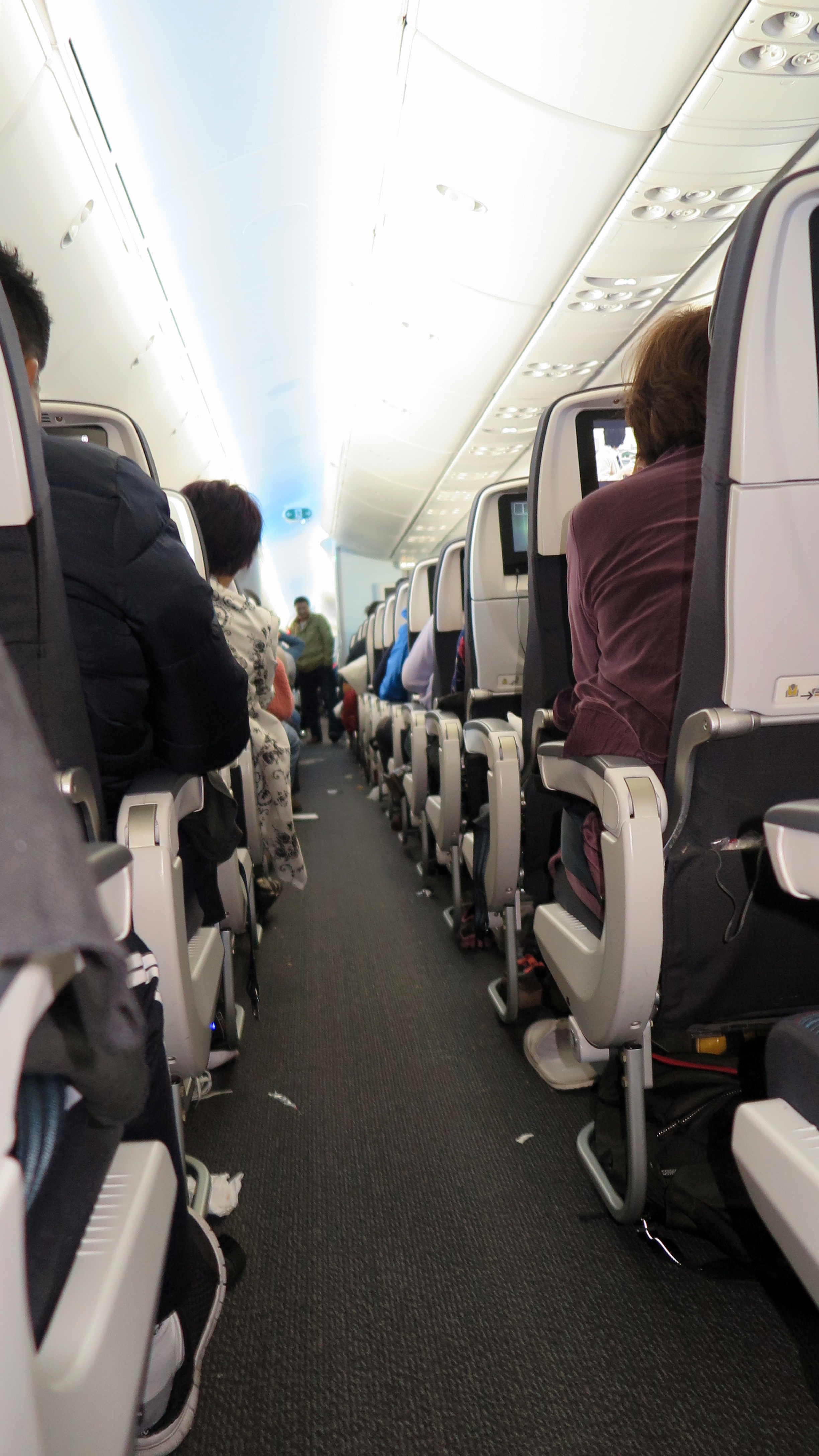 加航待飞 波音787