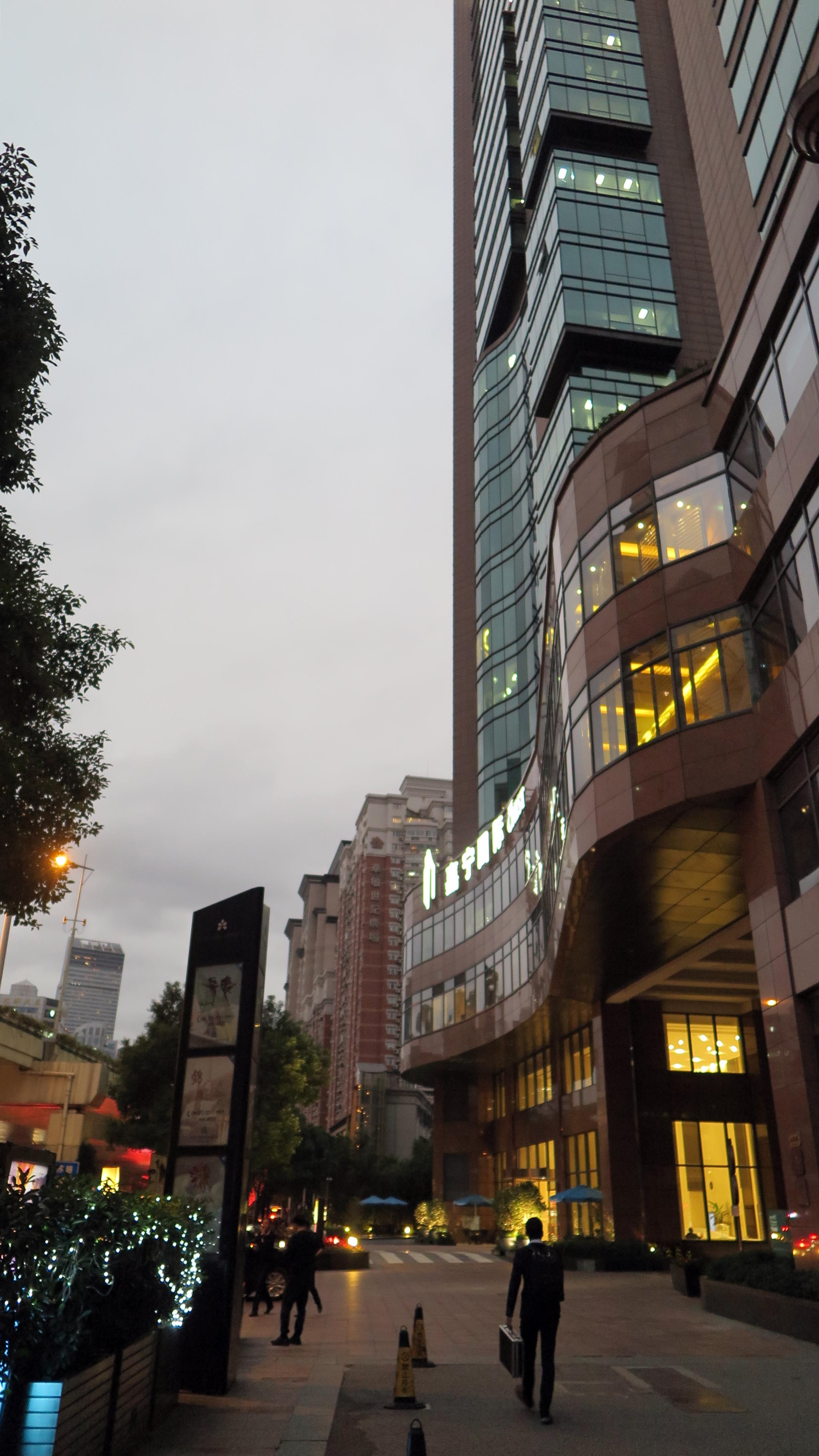 上海日航饭店 观景
