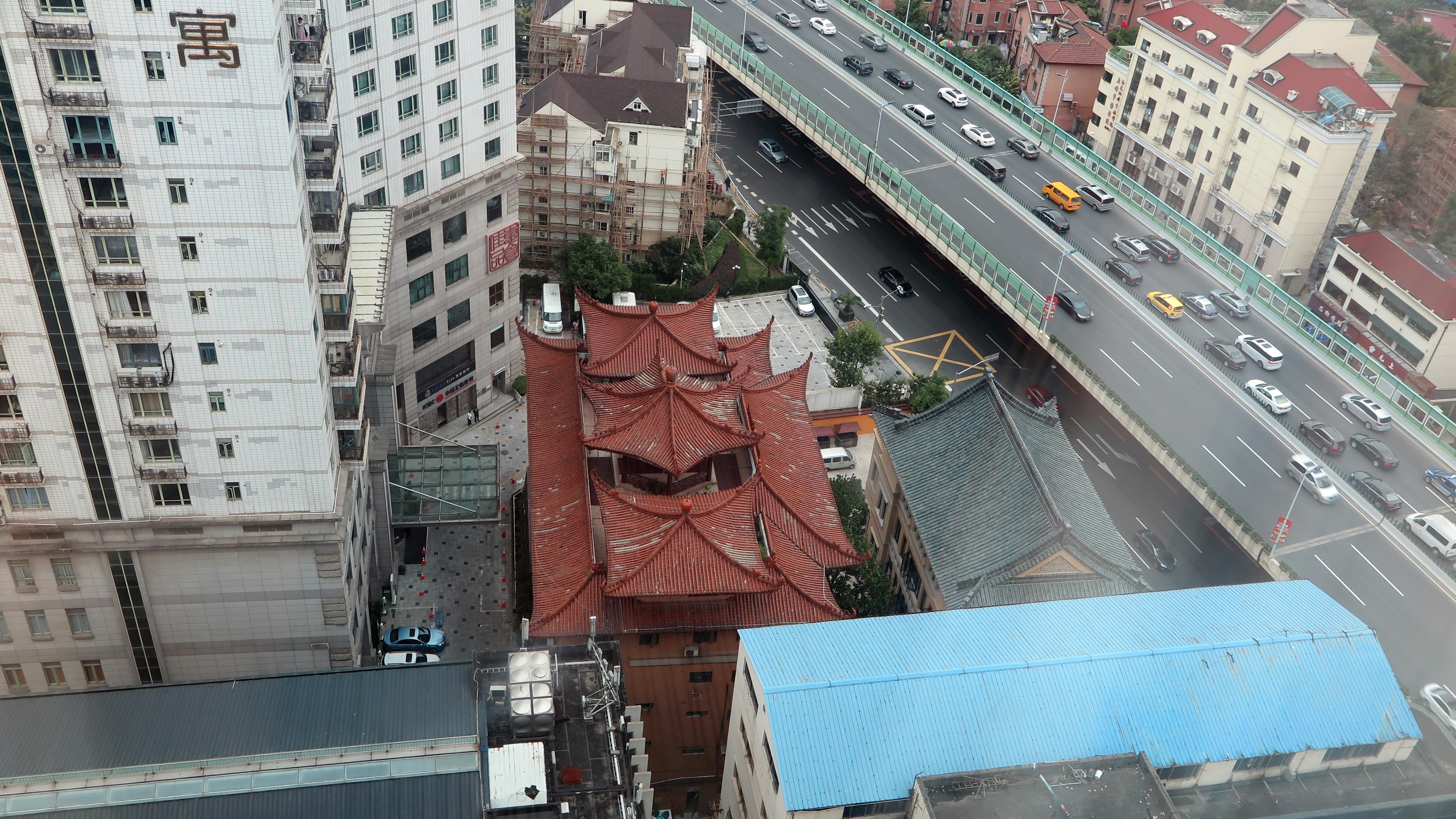 上海日航饭店 23层观景
