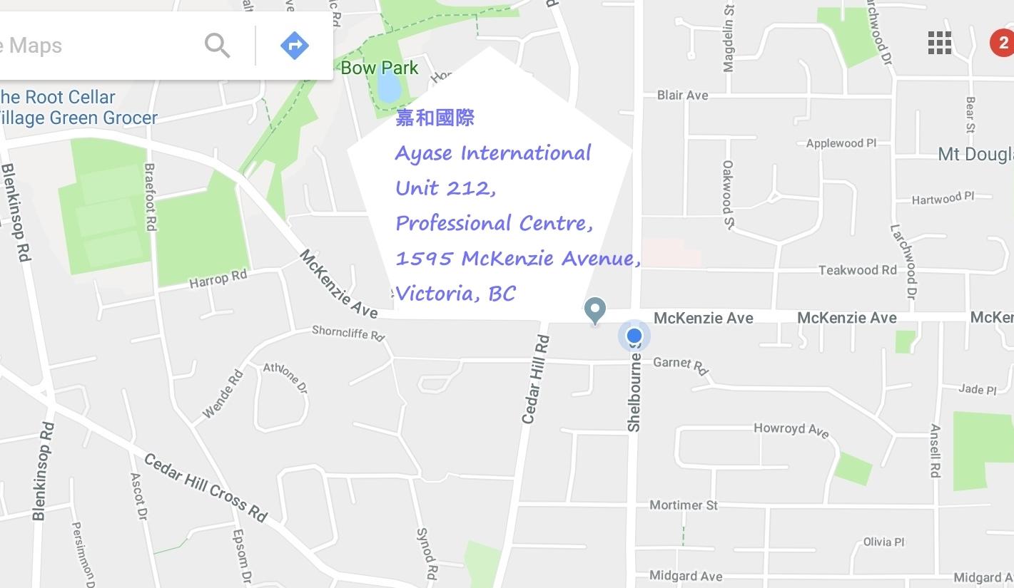嘉和國際公司地址/谷歌地圖